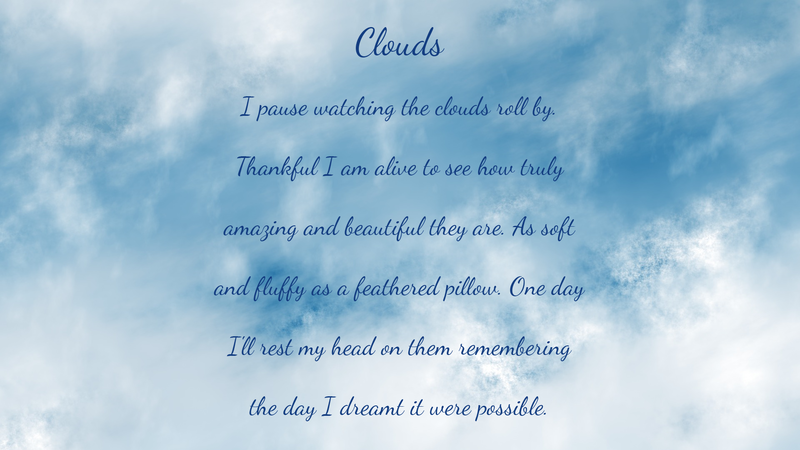 Clouds - Poetry by Lace