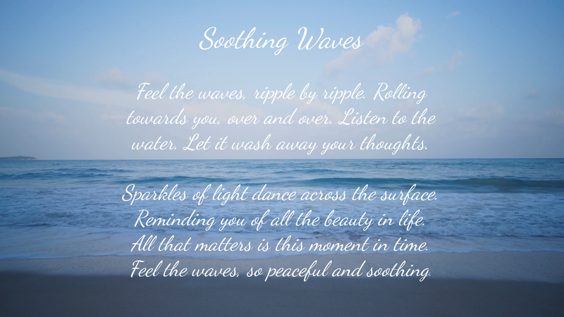 Soothing Waves - Poetry by Lace